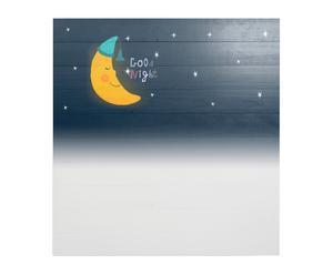 Cabecero de madera de pino Good night– 105x110 cm
