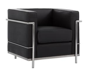 1x LC2 Le Corbusier negro - ES15RJM04-121