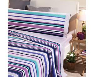 Juego de sábanas, multicolor – cama de 150 I
