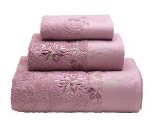 Juego de toallas de algodón, 550 gr – rosa II