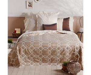 Colcha Jacquard, beige – cama de 90 I