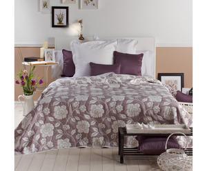 Colcha Jacquard, morado – cama de 150 I