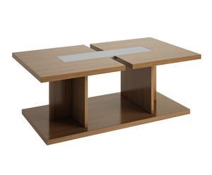 Mesa de centro elevable - color nogal