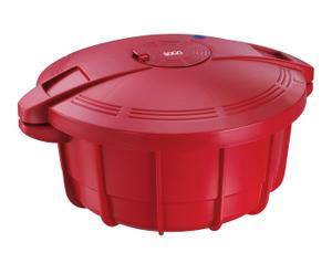 Olla a presión para microondas, rojo – 3.2 L