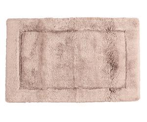 Alfombra de baño en algodón y seda Opulent II - 60x100 cm