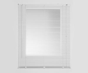 Persiana veneciana de láminas de aluminio, blanco –135x250 cm