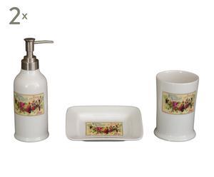 Set de 2 conjuntos de baño Lavanda