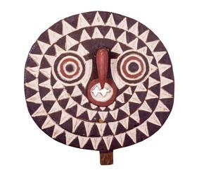 Máscara africana de madera - Ø29cm