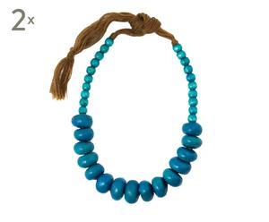 Set de 2 collares - azul