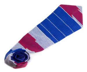 Corbata de estilo africano realizado en kente I