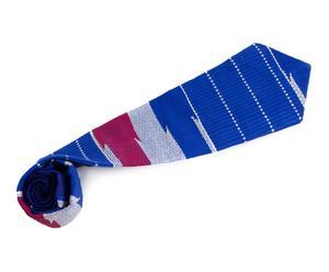 Corbata de estilo africano realizado en kente III