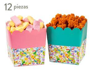 Set de 12 envases de papel Fiesta