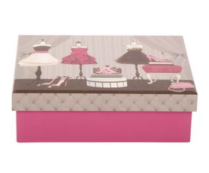 Set de caja y tarjetas para regalo con sobre