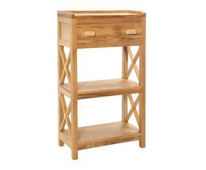 Estantería en madera de teca Wijo- natural