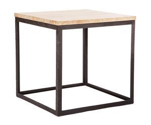 Mesa de centro en madera de madera de roble y hierro Oak II - natural