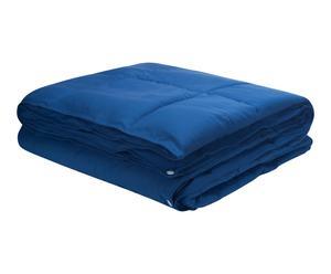 Edredón nórdico para cama de 135cm - azul marino