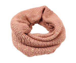 Bufanda tubular de poliéster - rosa claro