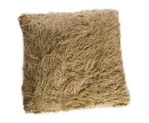 Cojín de pelo sintético Alpes – 45x45 cm