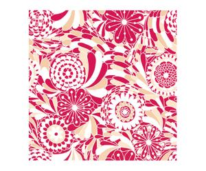 Papel pintado Happy - rojo