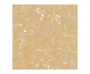 Papel pintado Bolas - plata y oro