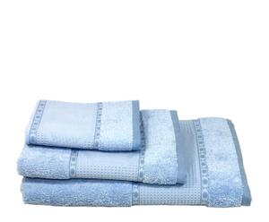 1x Sonia juego de 3 toallas Celeste - ES15TRO03-439