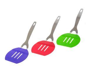 Set de 3 espátulas – verde, rojo y morado