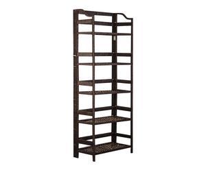 Estantería de 5 niveles en madera DM – 55x144x27 cm
