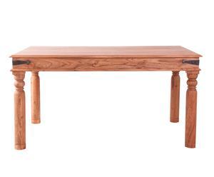 Mesa de comedor en madera de acacia – natural I