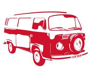 Vinilo Wagon - rojo