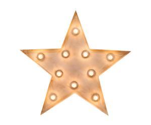 Estrella decorativa con luz