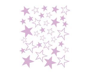 Vinilo adhesivo Estrellas, lila – 34x44 cm