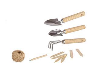 Set de 7 herramientas de jardinería