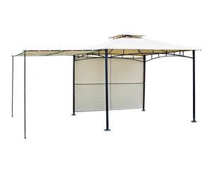 Pérgola de hierro y poliéster Adri - 290x300 cm