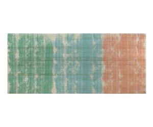 Cabecero en madera de pino, multicolor - 180x80 cm