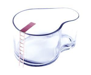 Acuario para pez en vidrio Fish - 3,8 L