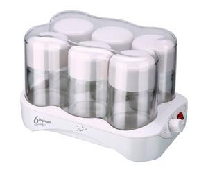Yogurtera con tarros de cristal - 24W