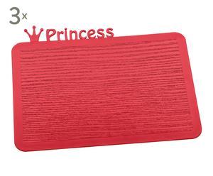 Set de 3 bandejas Princess - rojo