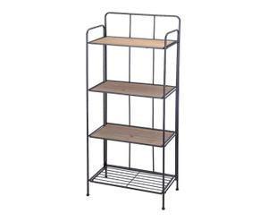 Estantería con 4 estantes - altura 138,5 cm