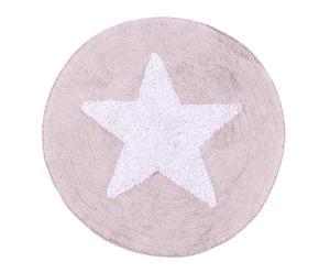 Alfombra de baño de algodón Sidney - Ø75 cm
