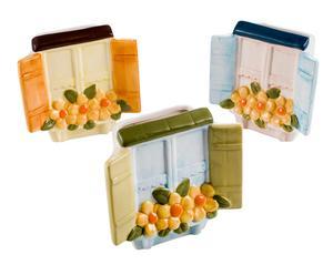 Set de 3 humidificadores de cerámica para radiador