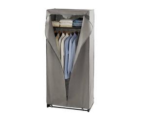 Armario de tela Easybox, gris - altura 180 cm