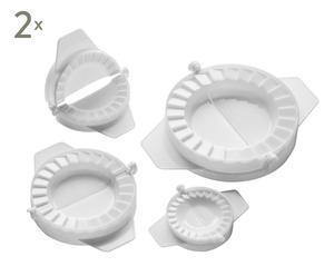 Set de 8 moldes de empanadilla
