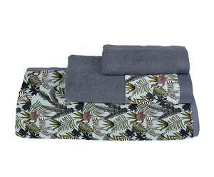 Juego de toallas de algodón Zebra - 3 piezas