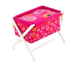 Set de moisés, edredón, almohada y colchón Tokyo - rosa
