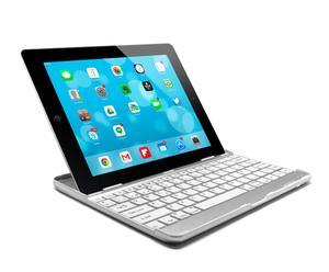 Teclado ultraslim de aluminio para iPad 2, 3 y 4