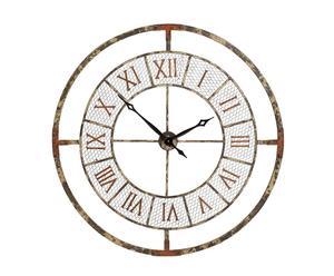 Reloj de pared en metal calado - Ø108 cm