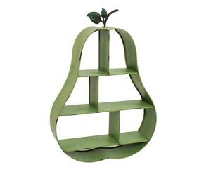 Estantería de pared en metal Pera - verde