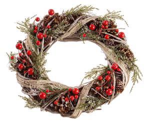 Corona de navidad decorativa Greta - Ø30 cm