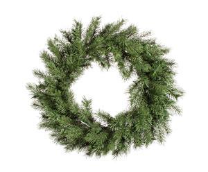 Corona de navidad Norwich, verde - Ø75 cm
