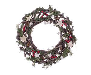 Corona de navidad Dolomite - Ø40 cm